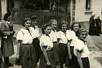 V Hudlicích držela mládež při sobě i v  padesátých letech minulého století.