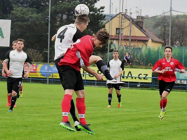 Duel B mužstev v okresním fotbalovém přeboru mezi Královým Dvorem a Hořovickem skončil nerozhodně 3:3.