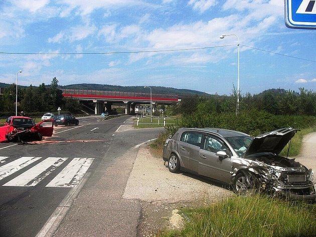 Tragická autonehoda u Bavoryně.