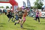 Stejně jako loni si i letos v rámci akce Běžíme na hrad zazávodí také děti.