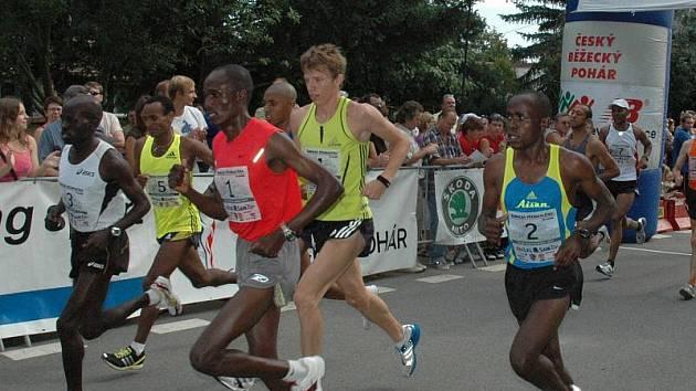 Za rekordní účasti běžců z celé republiky i ze zahraničí se uskutečnil dvacátý devátý ročník Žebrácké pětadvacítky.