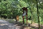 Lesopark Knihov ve Zdicích se stal oblíbeným místem pro pasivní i aktivní odpočinek.