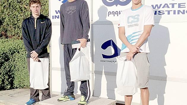 Tomáš Ludvík (vlevo) skončil druhý na Českém poháru