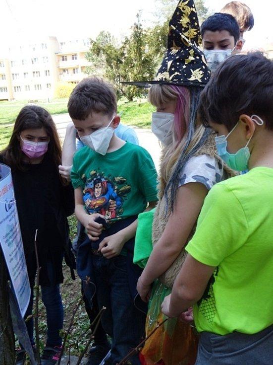 Družinu čekaly úkoly vztahující se k čarodějnicím.