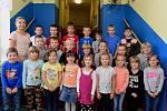Prvňáčci ze Základní školy Beroun Závodí pod vedením učitelky Kateřiny Opálecké.