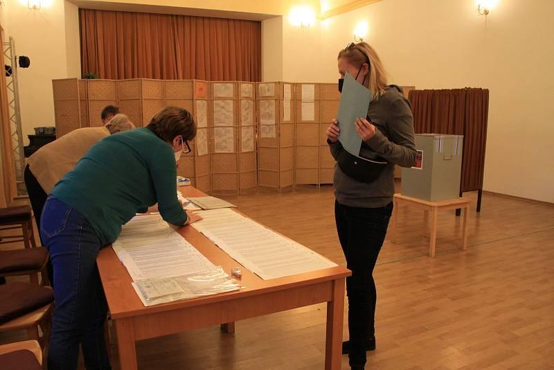 Parlamentní volby v Nižboru.