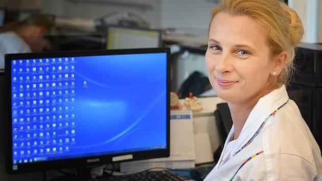 ANDREA Růžičková je v  soutěži Sestra roku první kandidátkou hořovické nemocnice.