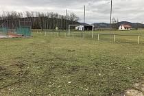 Stávající stav sportovního areálu.