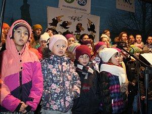 Česko zpívalo koledy na Berounsku