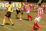 Fotbalisté Cerhovic porazili Vraný 2:1.