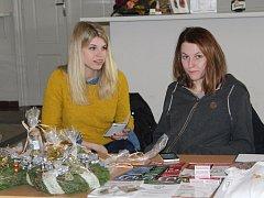 V Kulturním domě Plzeňka v Berouně se v sobotu uskutečnil vánoční jarmark,