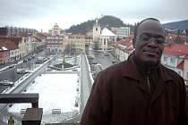 Černý husitský kněz přijel na návštěvu do Berouna