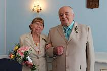 Manželé Vickovi slavili zlatou svatbu.