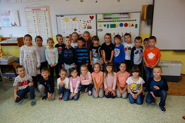 3. základní škola vBerouně: třída 1.A.
