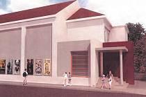 Ve třetí etapě rekonstrukce získá berounské kino novou fasádu, vstup i vestibul.