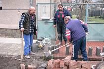 Jednou z posledních akcí Berouna v roce 2008 byla rekonstrukce ulice Boženy Němcové