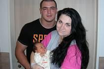 ŠŤASTNÍ rodiče Nikola a Tomáš Kuncovi z Drozdova chovají v náručí prvorozenou dcerku Nikolku, která se narodila 18. února 2017, vážila 3,74 kg a měřila 50 cm. Nikolčin tatínek provozuje silový trojboj a moc se těší, až po něm dcerka převezme žezlo.