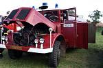 Dobrovolní hasiči na Lhotce
