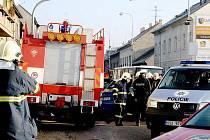 Při dopravní nehodě zemřel řidič osobního vozu.
