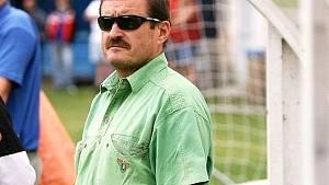 Fotbalový trenér Ladislav Bobek.