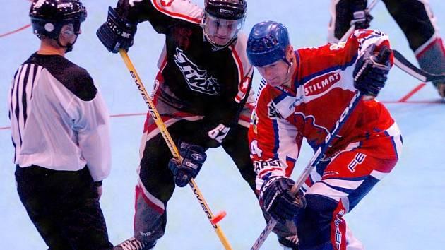 Berounští inline hokejisté i přes nepovedený začátek dokázali Písek vysoko porazit.