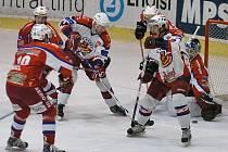 Berounští hokejisté prohrávali 0:2, nakonec ale vyhráli 5:2.