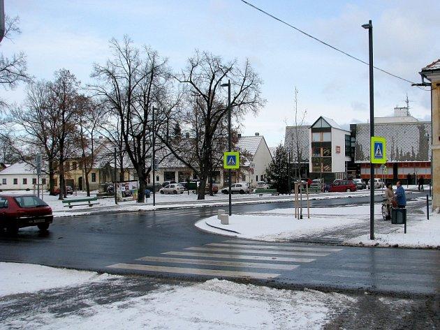 Hostomické Tyršovo náměstí
