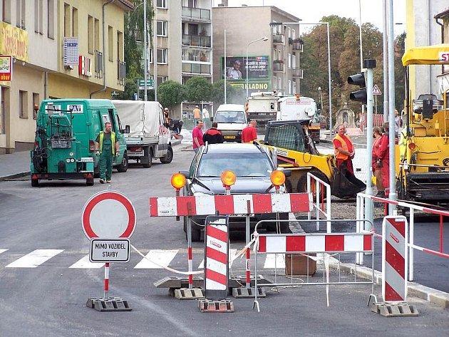Rekonstrukce Plzeňské ulice v Berouně