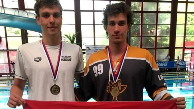 Tomáš a David Ludvíkovi, hvězdy závodů v Liberci.