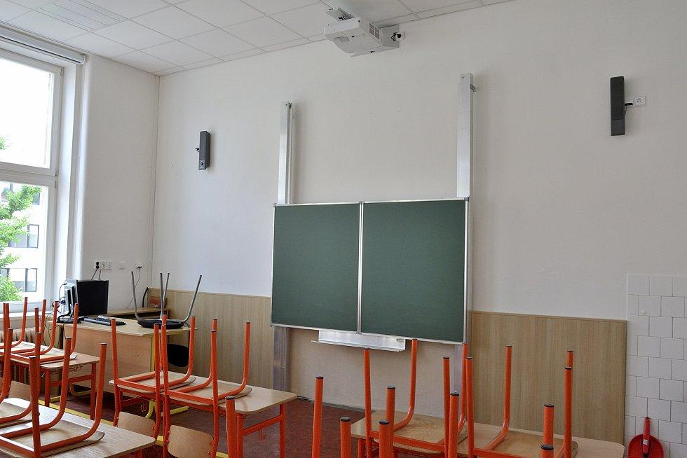 Nově opravená třída