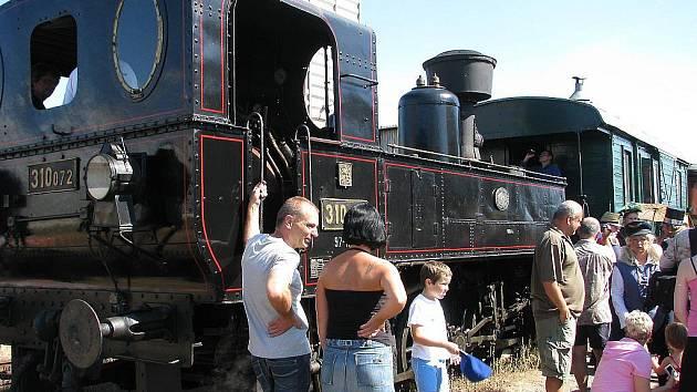 110. výročí trati Zadní Třebaň - Lochovice
