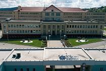 Areál nemocnice v Hořovicích.