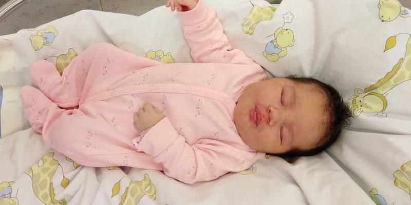 Anička Dušánková se narodila 1. června 2021 v 15. 08 hodin v čáslavské porodnici. Pyšnila se porodní váhou 4430 gramů a délkou 53 centimetrů. Domů do Žlebů si ji odvezli maminka Martina, tatínek Vašek a tříletý bráška Vašík.