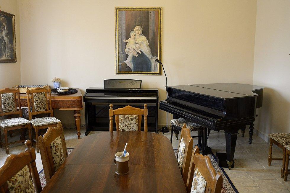 Prostory ZUŠ Schola musica Stella maris.