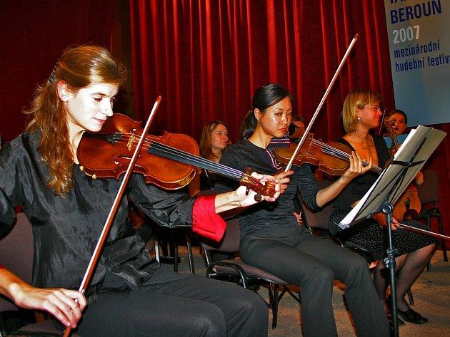 Talichův Beroun zahájil Komorní orchestr Berg