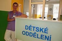 PRIMÁŘKOU  dětského oddělení hořovické nemocnice je Mahulena Mojžíšová