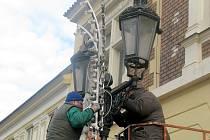 LAMPY historického typu v Hořovicích zachovají