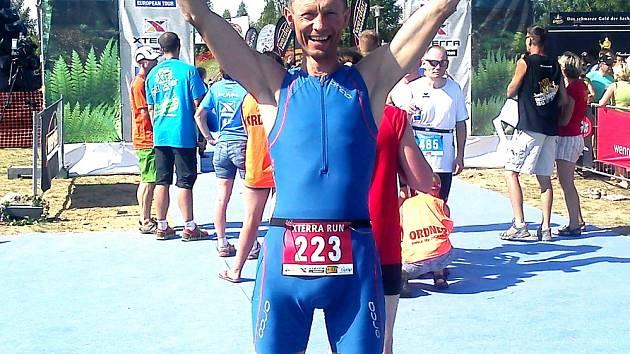 Triatlet František Bulava