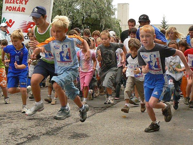 Součástí Žebrácké pětadvacítky byl tradičně i Lidový běh na 1,1 kilometru, kterého se může zúčastnit každý příchozí