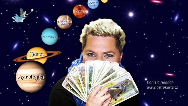 Astroložka Daniela Hannah