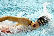 Karolína Křenková v bazénu