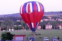 Balón přistál na sídlišti Nad Stadionem