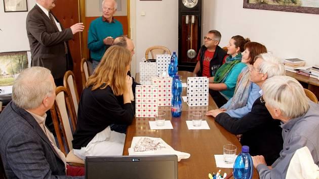 Německá delegace v Hořovicích