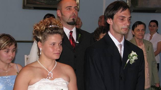 Nikola Hamzová a Daniel Maslák