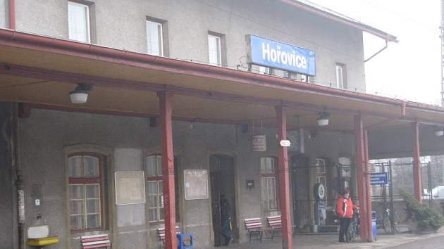 Hořovické vlakové nádraží