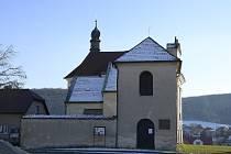 Kostel sv. Kateřiny v roce 2021.