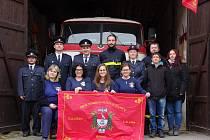 Z činnosti dobrovolných hasičů ve Bzové.