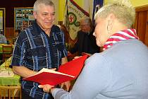 Jaroslav Kocourek je aktivním členem Sokola Komárov