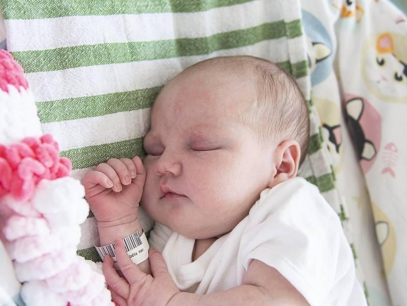 Alžběta Tovtiková z Milovic se narodila v nymburské porodnici 23. července 2021 v 10.25 hodin s váhou 3760 g a mírou 51 cm. Holčička bude vyrůstat s maminkou Zdenkou, tatínkem Marianem a sestřičkou Sabinou (3,5 roku).
