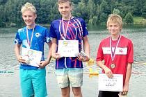 David Ludvík (uprostřed) získal český titul.